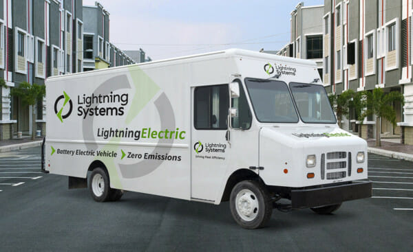 Lightning Systems F-59 van