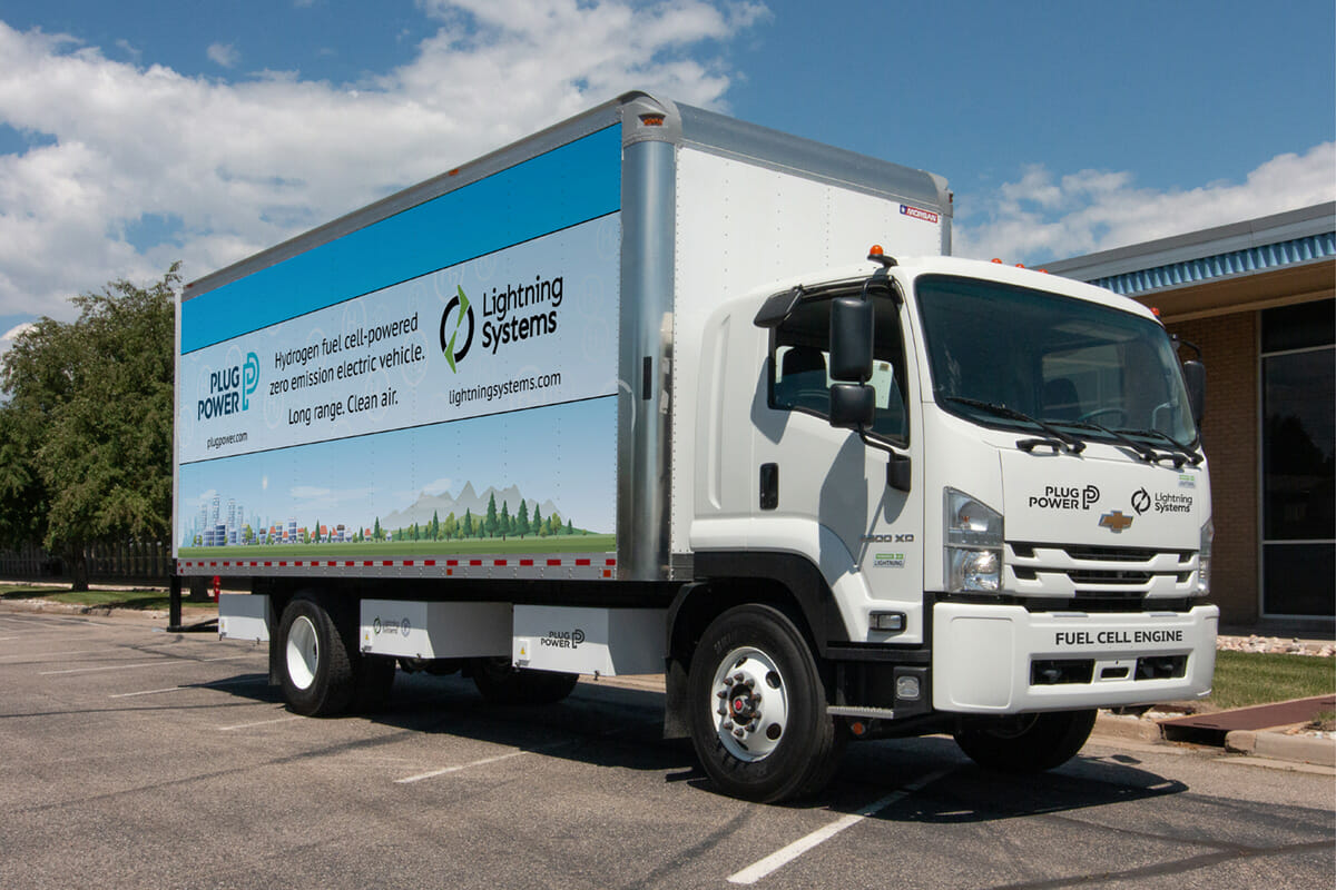 GM 6500XD electric truck with Plug Power fuel cell technology